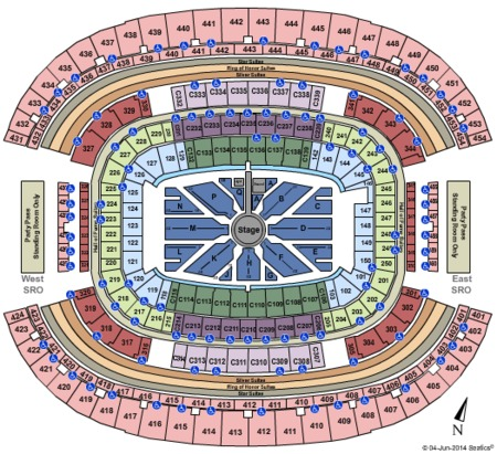 AT&T Stadium Tickets and AT&T Stadium Seating Charts ...