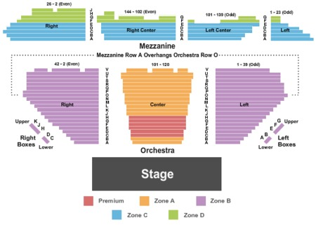 Winter Garden Theatre Tickets And Winter Garden Theatre Seating Charts 2018 Winter Garden