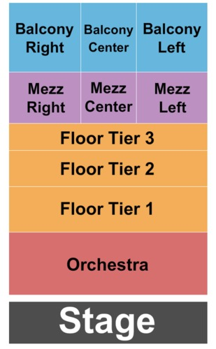 Agora Theatre Tickets and Agora Theatre Seating Charts ...