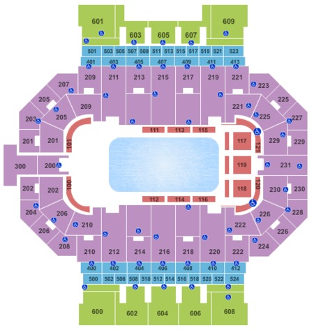 Allen County Coliseum Seating Chart Allen County Coliseum Seating