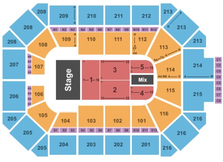 Allstate Arena Map Allstate Arena Tickets and Allstate Arena Seating Charts   2019