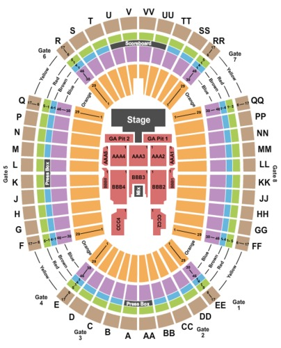 Aloha Stadium Tickets and Aloha Stadium Seating Charts ...