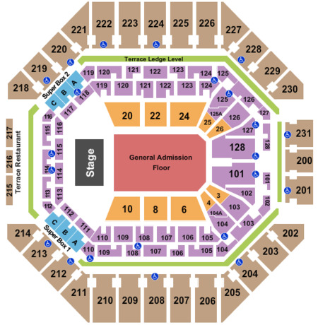 At Amp T Center Tickets And At Amp T Center Seating Charts 2019 At Amp T Center Tickets In San