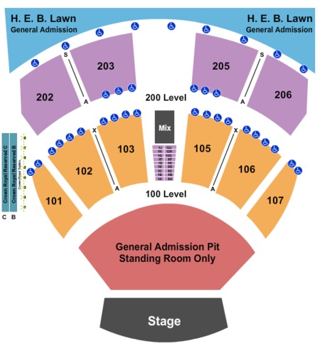 Austin360 Amphitheater Seating Capacity Travel Deals From