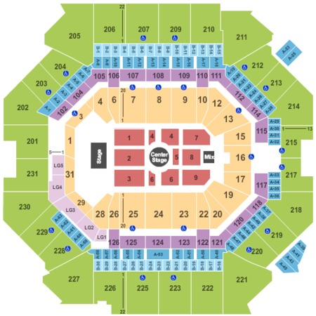 Barclays Center Tickets and Barclays Center Seating Charts ...