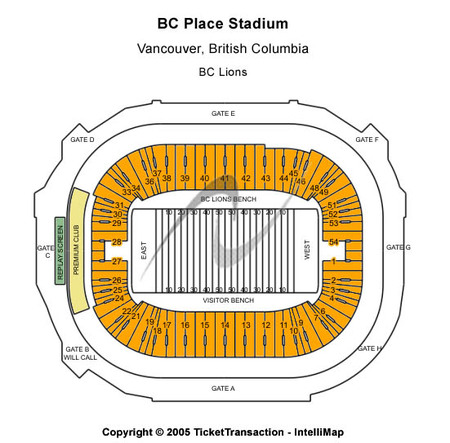 Bc Place Stadium Seating Chart World Cup