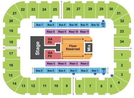 Berglund Center Coliseum Tickets And Berglund Center
