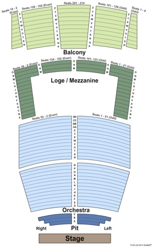 Berglund Performing Arts Theatre Tickets And Berglund