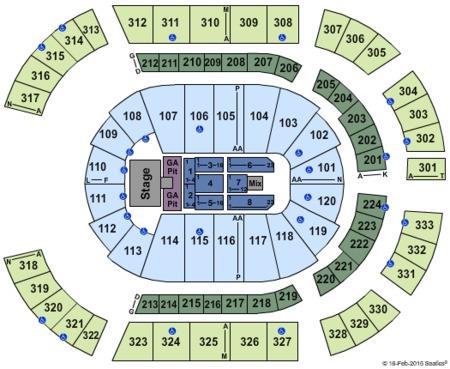 Bridgestone Arena Tickets And Bridgestone Arena Seating Charts 2021 Bridgestone Arena Tickets In Nashville Tn