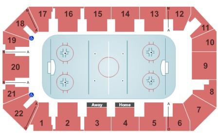 Cambria County War Memorial Arena Tickets And Cambria County War Memorial Arena Seating Charts