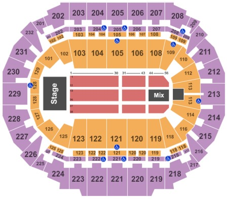 centurylink center omaha seating charts