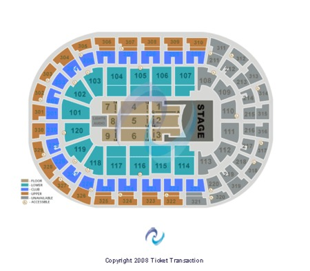 Chesapeake Energy Arena Seating Chart Garth Brooks - Best Picture Of on