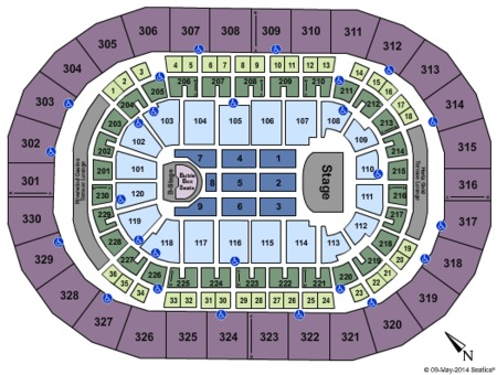 Chesapeake Energy Arena Seating Chart O3 Restaurant San Francisco