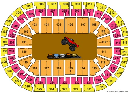 Chesapeake Energy Arena Tickets And Chesapeake Energy Arena Seating