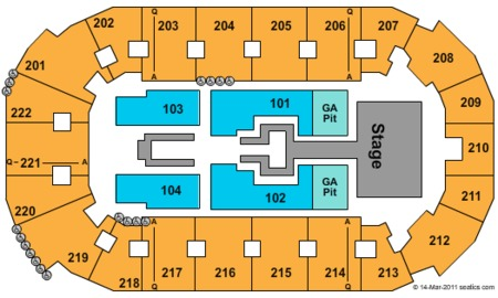 Tim Mcgraw Seating Map Covelli Centre