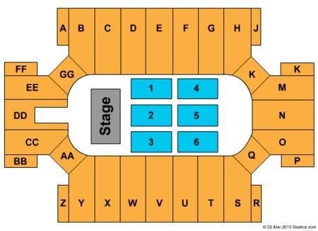Daughtry Seating Map Cross Insurance Arena