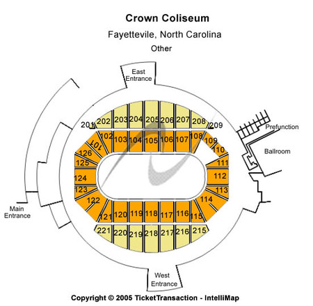 Crown Coliseum - The Crown Center