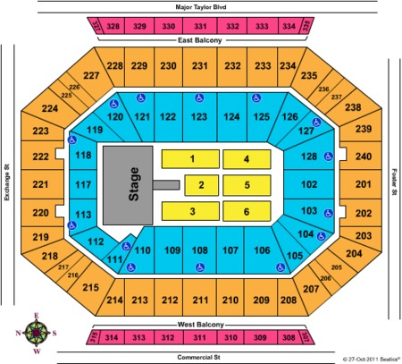Dcu Center Tickets And Dcu Center Seating Charts 2017