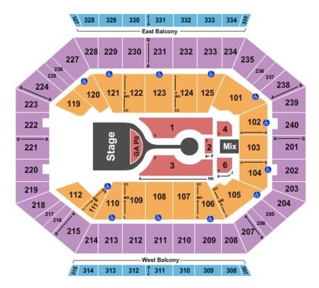 Dcu Center Tickets And Dcu Center Seating Charts 2019