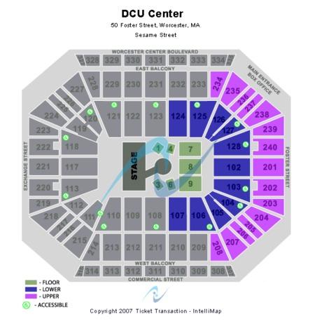 DCU Center Tickets and DCU Center Seating Charts - 2019 DCU Center on
