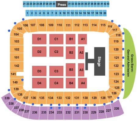 Stubhub Center Seating Chart Boxing | Review Home Decor