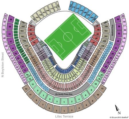Dodger Stadium Map on