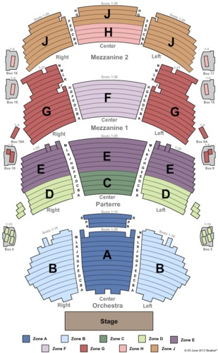 Dolby theatre tickets and dolby theatre seating charts 2019 dolby