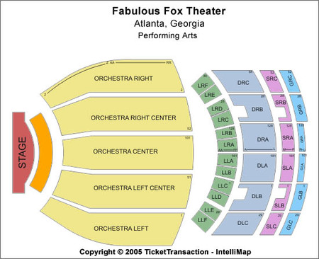 Fabulous Fox Theatre Tickets And Fabulous Fox Theatre