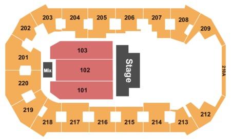 Findlay Toyota Prescott >> Findlay Toyota Center Tickets and Findlay Toyota Center Seating Charts - 2019 Findlay Toyota ...