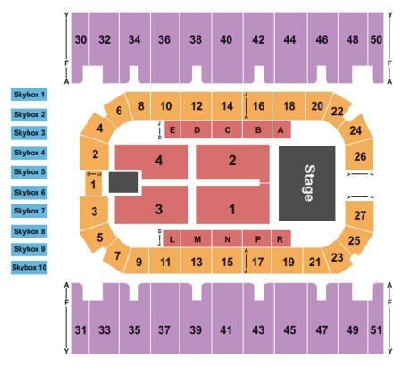 Rimrock Auto Arena Tickets And Rimrock Auto Arena Seating