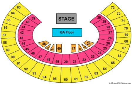 Frank Erwin Center Tickets and Frank Erwin Center Seating Charts - 2021 Frank  Erwin Center Tickets in Austin, TX!Tickets from TicketSupply.com