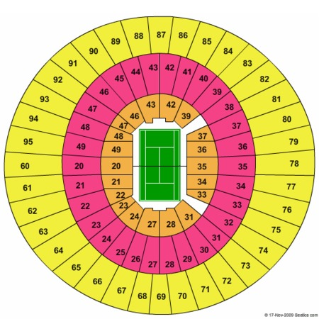 Frank Erwin Center Seating Charts