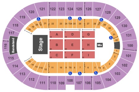 Freeman Coliseum Tickets And Freeman Coliseum Seating Charts 2019