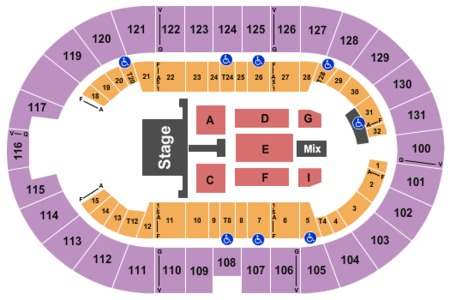 Freeman Coliseum Tickets And Freeman Coliseum Seating