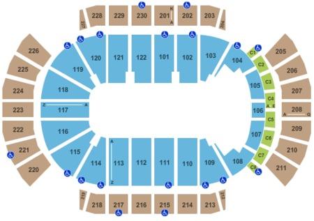Gila River Arena Tickets And Gila River Arena Seating