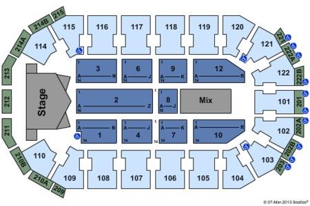 Alicia Keys Seating Map Heb Center At Cedar Park