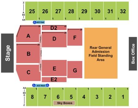 Hersheypark Stadium Tickets And Hersheypark Stadium Seating Charts