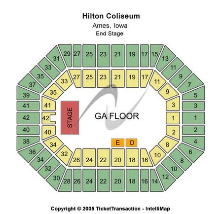 Hilton Coliseum Tickets And Hilton Coliseum Seating Charts 2019