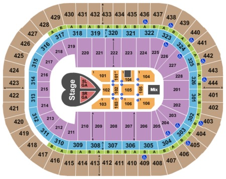 Honda Center Tickets And Honda Center Seating Charts