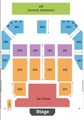 Horseshoe casino seating chart hammond