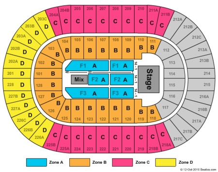 Joe Louis Arena Tickets and Joe Louis Arena Seating Charts - 2018 ...