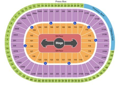 Joe Louis Arena Tickets and Joe Louis Arena Seating Charts - 2018 ...