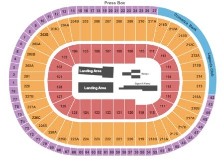Joe Louis Arena Tickets and Joe Louis Arena Seating Charts - 2019 ...
