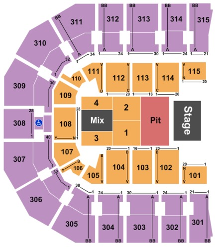 Miranda Lambert Tickets John Paul Jones Arena Feb 24