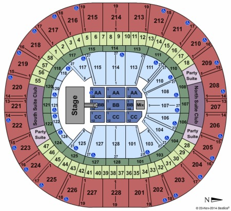 Key Arena Seattle Map.Keyarena Tickets And Keyarena Seating Charts 2019 Keyarena Tickets