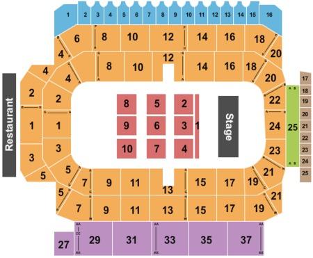 Kitchener Memorial Auditorium Tickets And Kitchener