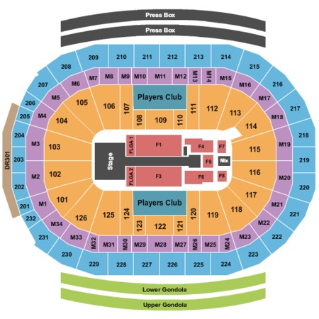 Little Caesars Arena Tickets and Little Caesars Arena Seating Charts - 2018 Little Caesars Arena ...