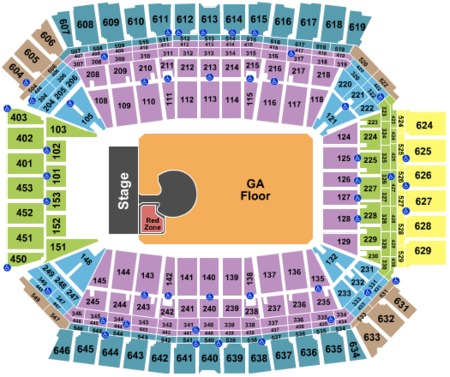 Lucas Oil Stadium Tickets And Lucas Oil Stadium Seating Charts