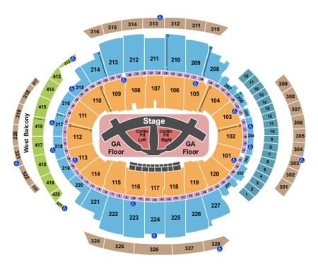 Madison Square Garden Tickets And Madison Square Garden Seating Charts 2017 Madison Square