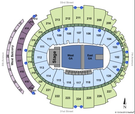 madison square garden tickets and madison square garden seating charts